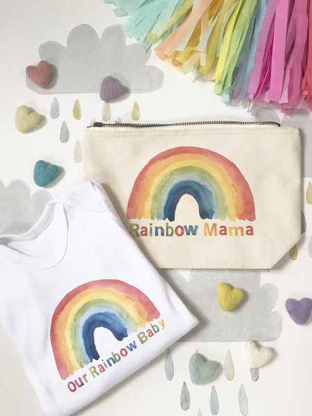 'Rainbow Mama' canvas bag