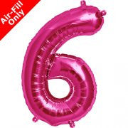 Foil number balloons