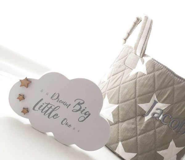 Freestanding dream big little one cloud