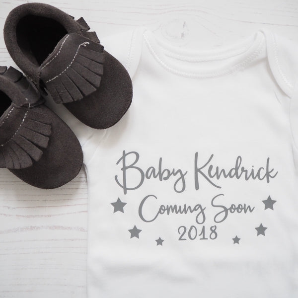 Pregnancy/Birth Announcement Vest