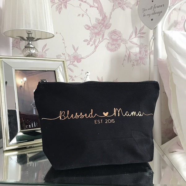 Personalised cotton canvas bag