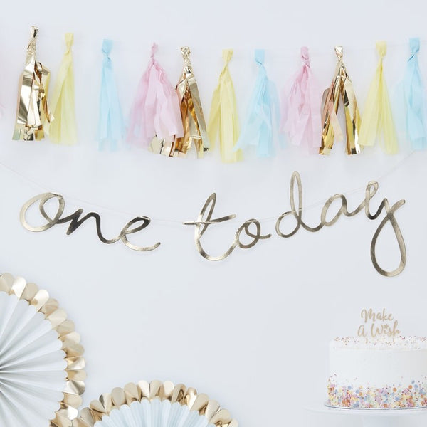 One today banner