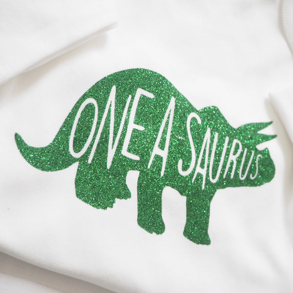 Dinosaur Birthday Age Vest or T-Shirts