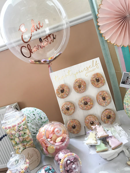 'Treat your self' Donut Wall