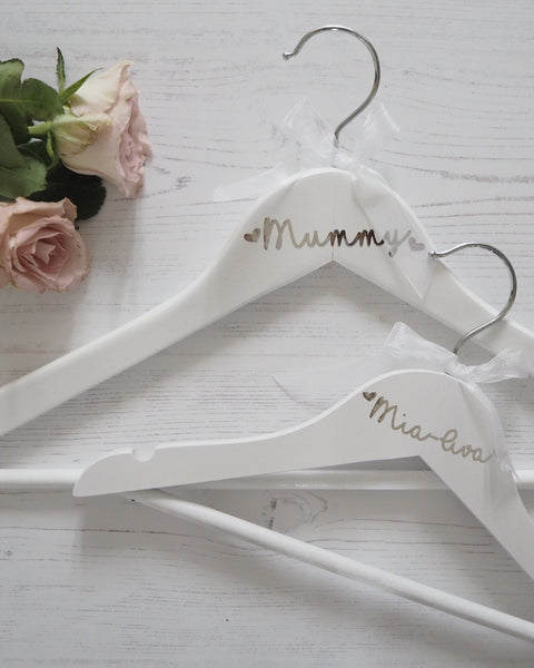 Personalised Childs Coat Hanger