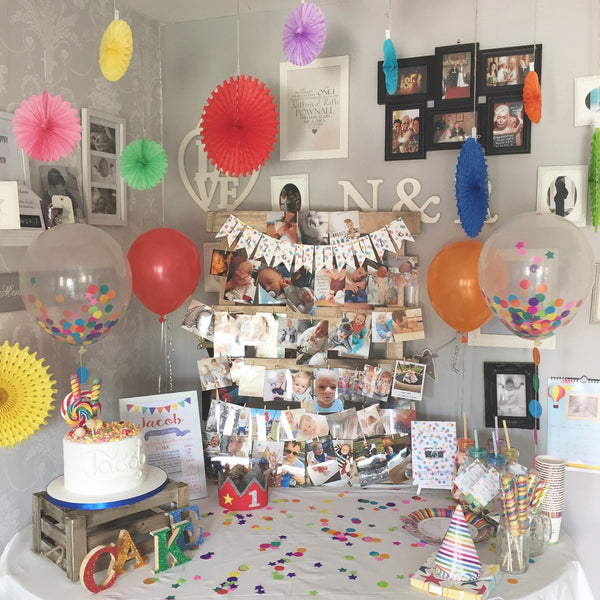 Confetti Balloons 16inch with garland