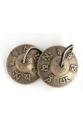 Tibetan Tingsha Meditational Cymbal with mantras