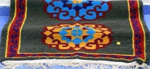 Handmade Uttarakhand-Bhotia-Woolen-Carpet-from-Badrinath-Valley