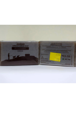 Aarohi Handcrafted Soap (70g) - Rosemary-Natural handcrafted soaps-Samaun- The Himalayan Treasure