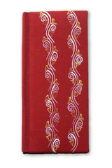 Notebook in hand painted Aipan craft cover-Aipan Craft-Samaun- The Himalayan Treasure