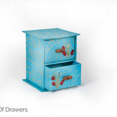 Chest of Drawers in Handmade paper-Paper Craft-Samaun- The Himalayan Treasure