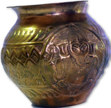 Hand crafted Copper sriganesh ji Lota-Copperware-Samaun- The Himalayan Treasure