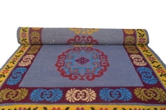 Handmade Traditional Carpet Grey Base-Himalayan Rugs and Carpets-Samaun- The Himalayan Treasure