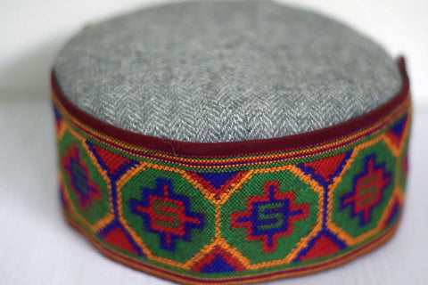 Himachali kullu pahari cap with full border