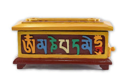 tibetan incense burner box
