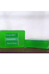 Handcrafted Soap (100g) - Cucumber-Natural handcrafted soaps-Samaun- The Himalayan Treasure