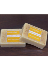Natural Handcrafted Soap (100g) - Goat milk Orange Scrub-Natural handcrafted soaps-Samaun- The Himalayan Treasure