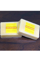 Handcrafted Soap (100g) - Haldi with Goat milk-Natural handcrafted soaps-Samaun- The Himalayan Treasure