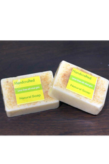 Natural Handcrafted Soap (100g) - Lemongrass with wheat germs-Natural handcrafted soaps-Samaun- The Himalayan Treasure