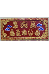 Tibetan Holy Frame (Rectangular)-Tibetan Craft-Samaun- The Himalayan Treasure