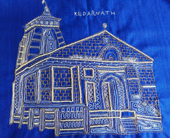 kedarnath painting in embroidery  uttarakhand handicraft