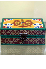 Tibetan Jewellery Box-Small-Tibetan Craft-Samaun- The Himalayan Treasure