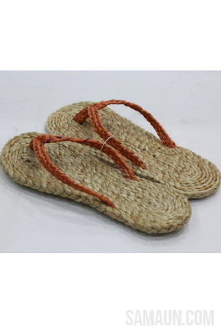 Jute Slippers-Jute,Bamboo & Ringal-Samaun- The Himalayan Treasure
