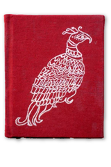 Monal pocket Notepad in Aipan painted cover-Aipan Craft-Samaun- The Himalayan Treasure