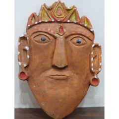 Ramman Wooden masks - Lord Rama-Ramman wooden masks-Samaun- The Himalayan Treasure