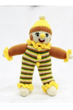 Handknitted Soft toy Joker from Kumaon,Uttarakhand-Handcrafted Soft Toys-Samaun- The Himalayan Treasure