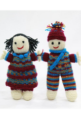 Handmade Gudda-Guddi Dolls ( 1 Pair ) from Uttarakhand-Handcrafted Soft Toys-Samaun- The Himalayan Treasure