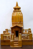 Handmade Kedarnath Temple in Wooden craft of Uttarakhand