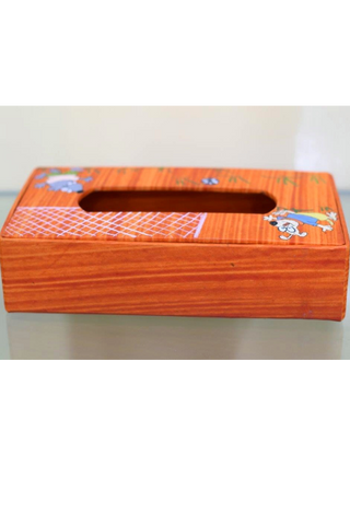 Tissue Paper Box-Paper Craft-Samaun- The Himalayan Treasure