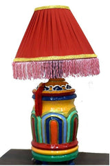 Tibetan Designer lamp (for store pickup)-Tibetan Craft-Samaun- The Himalayan Treasure