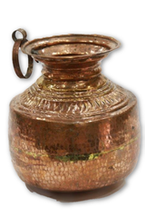 Handcrafted Copper Gagar from Uttarakhand-Copperware-Samaun- The Himalayan Treasure