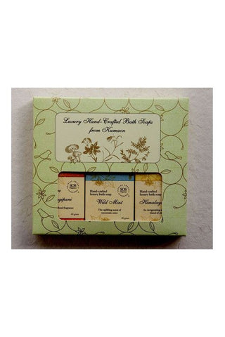 SOS Natural Himalayan handcrafted Soaps Gift Box-Natural Himalayan Cosmetics-Samaun- The Himalayan Treasure