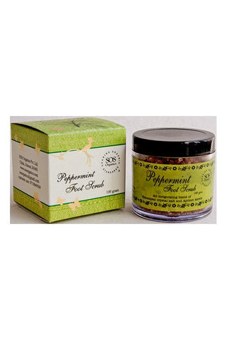SOS Himalayan Peppermint Foot Scrub-Natural Himalayan Cosmetics-Samaun- The Himalayan Treasure