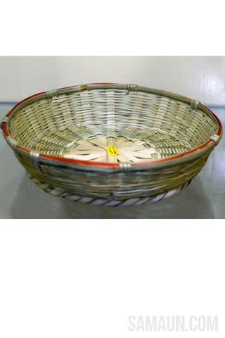Small Ringal(Cane)basket-Jute,Bamboo & Ringal-Samaun- The Himalayan Treasure