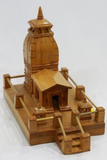 Handmade Kedarnath Temple in himalayan Wood craft