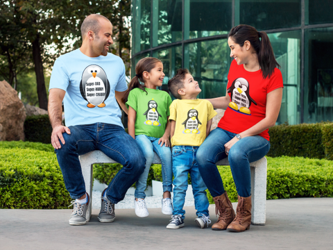 Penguin Family T-Shirts