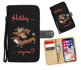 Hotdog Anyone Dachshund Wallet Phone Case (RFID-Blocking) - Bowie Shoppe
