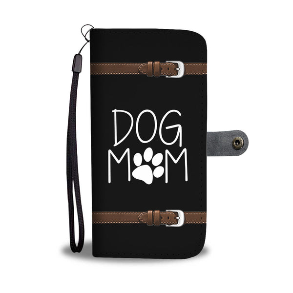 Unique Dog Mom Wallet Phone Case with RFID Protection - Bowie Shoppe
