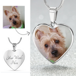 Personalized Heart-Shaped Luxury Pendant Necklace - Bowie Shoppe