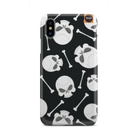 Skull And Bones Phone Case - Bowie Shoppe