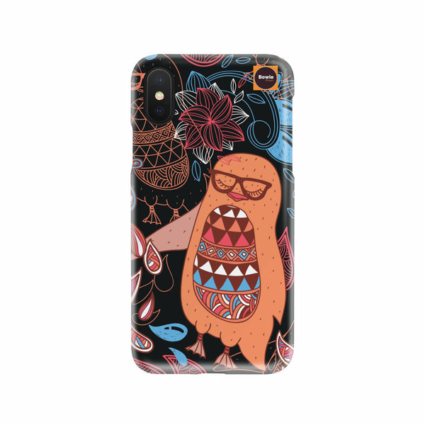Hipster Owl Phone Case - Bowie Shoppe
