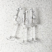 Champagne Bridal Flute Glass (more designs within)