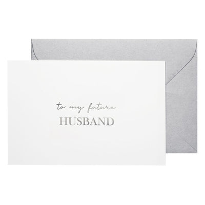 to my future husband note card groom gift ideas bridesmaid boxes