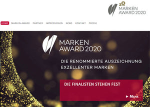 Grüezi bag in der Finalistenrunde des Marken-Awards 2020!