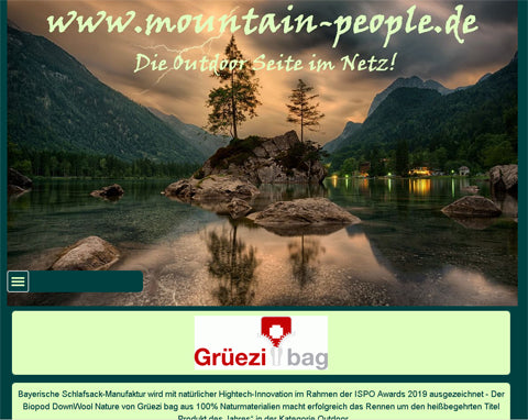 Hightech aus den Alpen - Onlinemagazin 'mountain-people' berichtet!