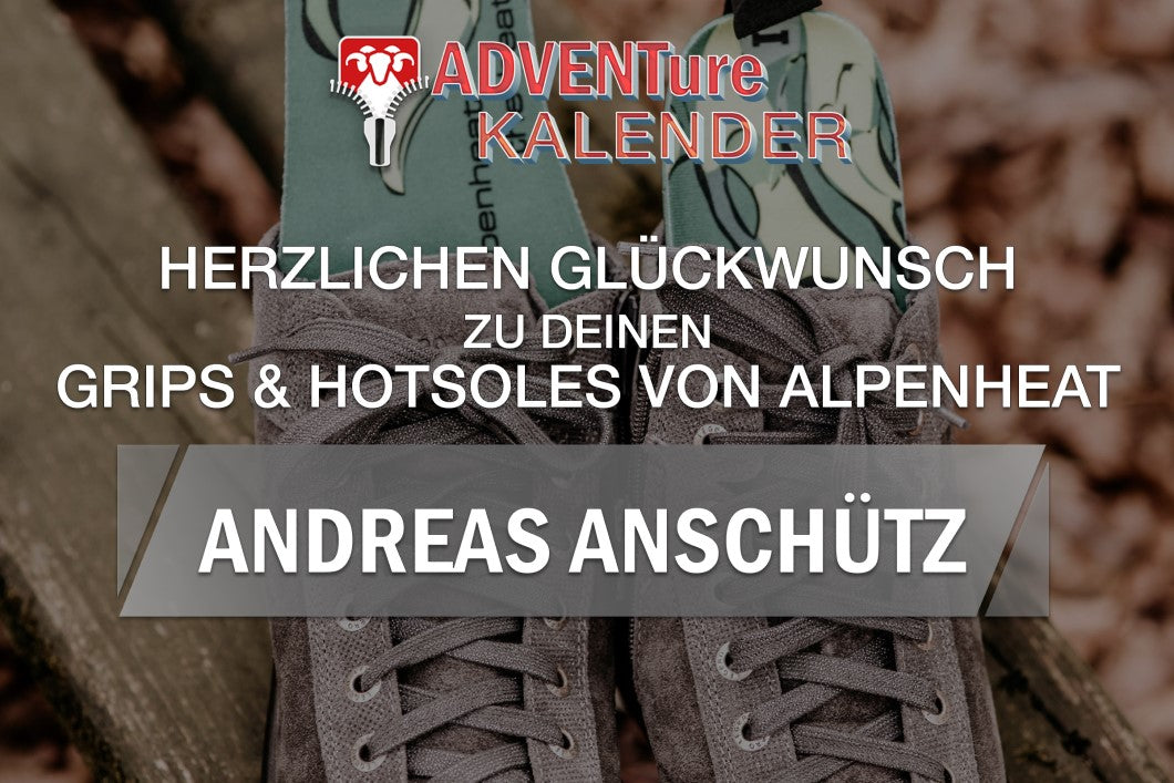 Grüezi bag ADVENTure KALENDER Tag 1 Gewinner